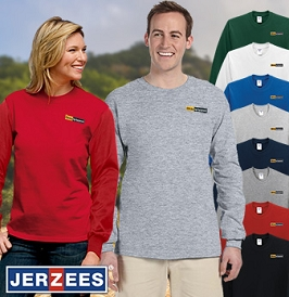 JERZEES HiDensi-T Long Sleeve Tee