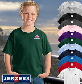 JERZEES Youth HiDensi-T Tee