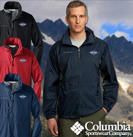 Columbia Lightweight Zippered Jacket