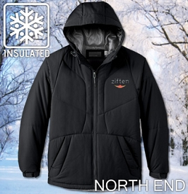 North End Insulated Hooded Jacket