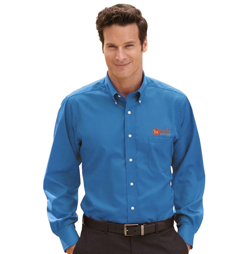 Van heusen long sleeve dress twill for Van heusen dress shirts