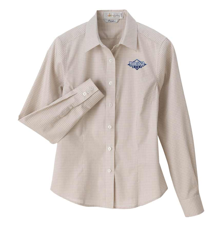 Ladies 39 primalux tailored dress shirt for Tailor dress shirt cost