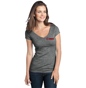 District Juniors Extreme V-Neck Tee