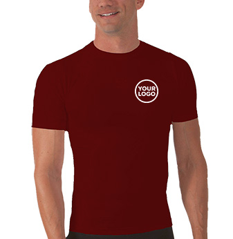 A4 Polyester Compression T-Shirt
