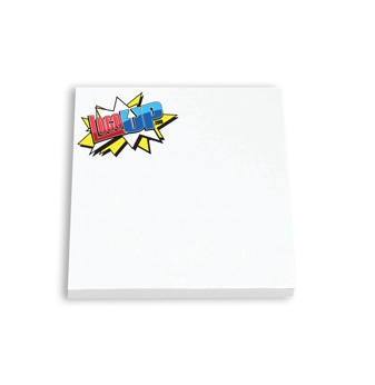BIC 3 in. x 3 in. Adhesive Notepad, 25 Sheet Pad