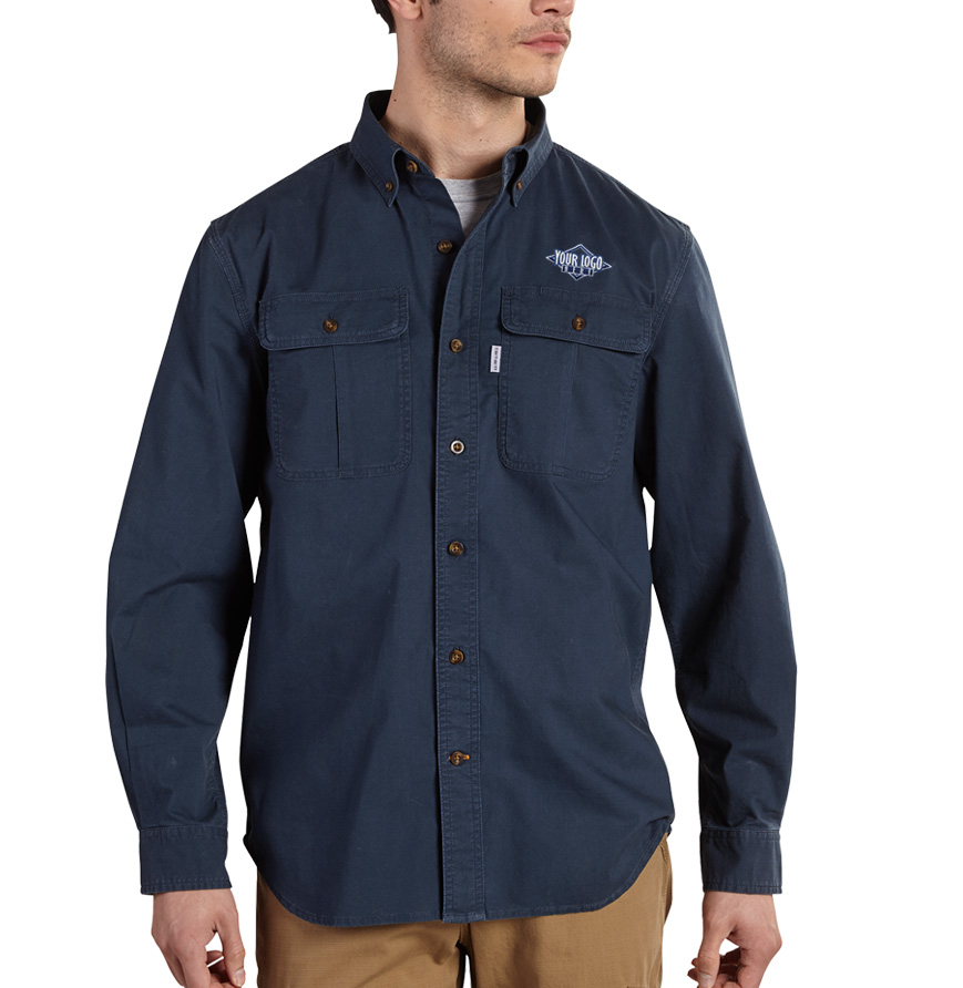 Carhartt Foreman Solid Long Sleeve Shirt