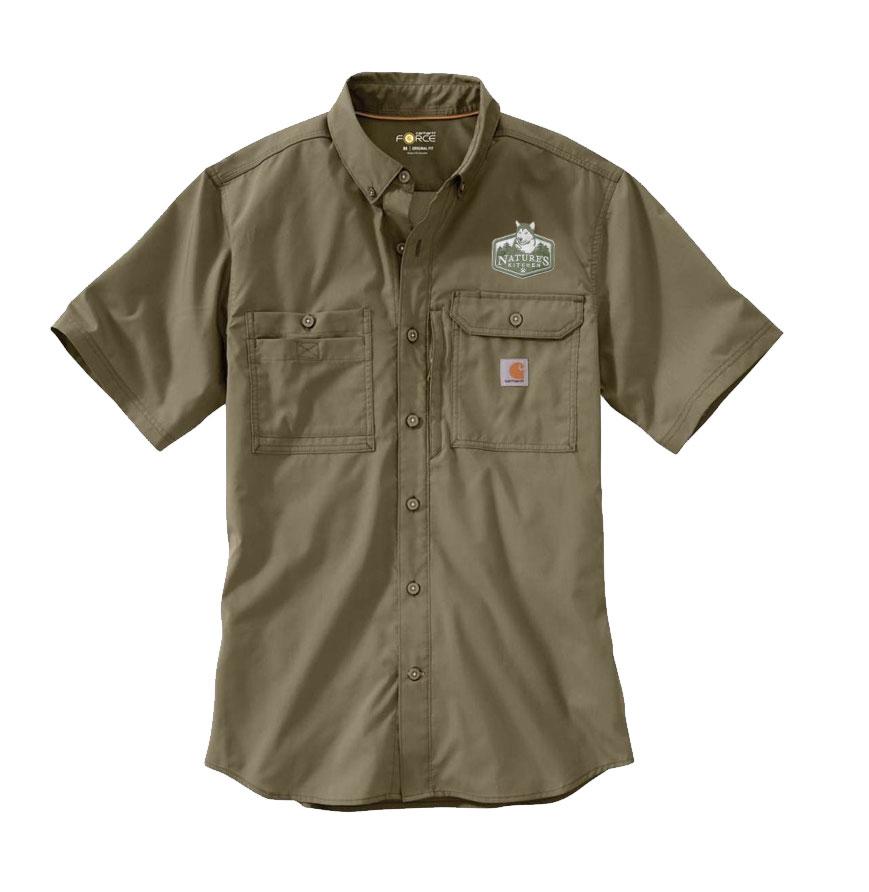 Carhartt Force Ridgefield Short Sleeve Shirt