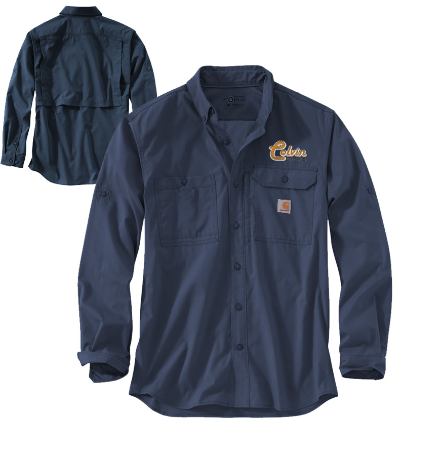 Carhartt Force Ridgefield Long Sleeve Shirt