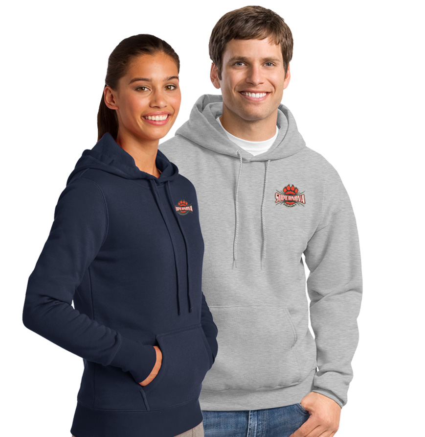 Hanes Fleece Hooded Sweatshirt