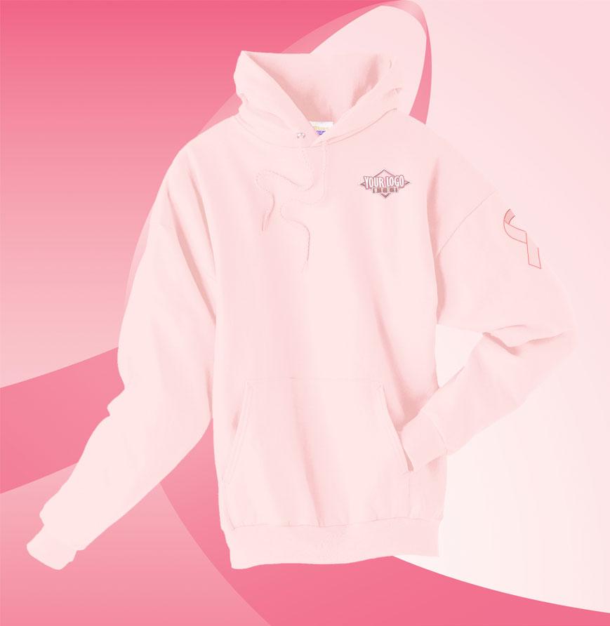 Pink Men's Hanes Comfort Blend Hoodie