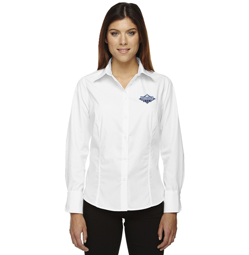 Ladies' Chestnut Hill Pima Cotton Button-Down