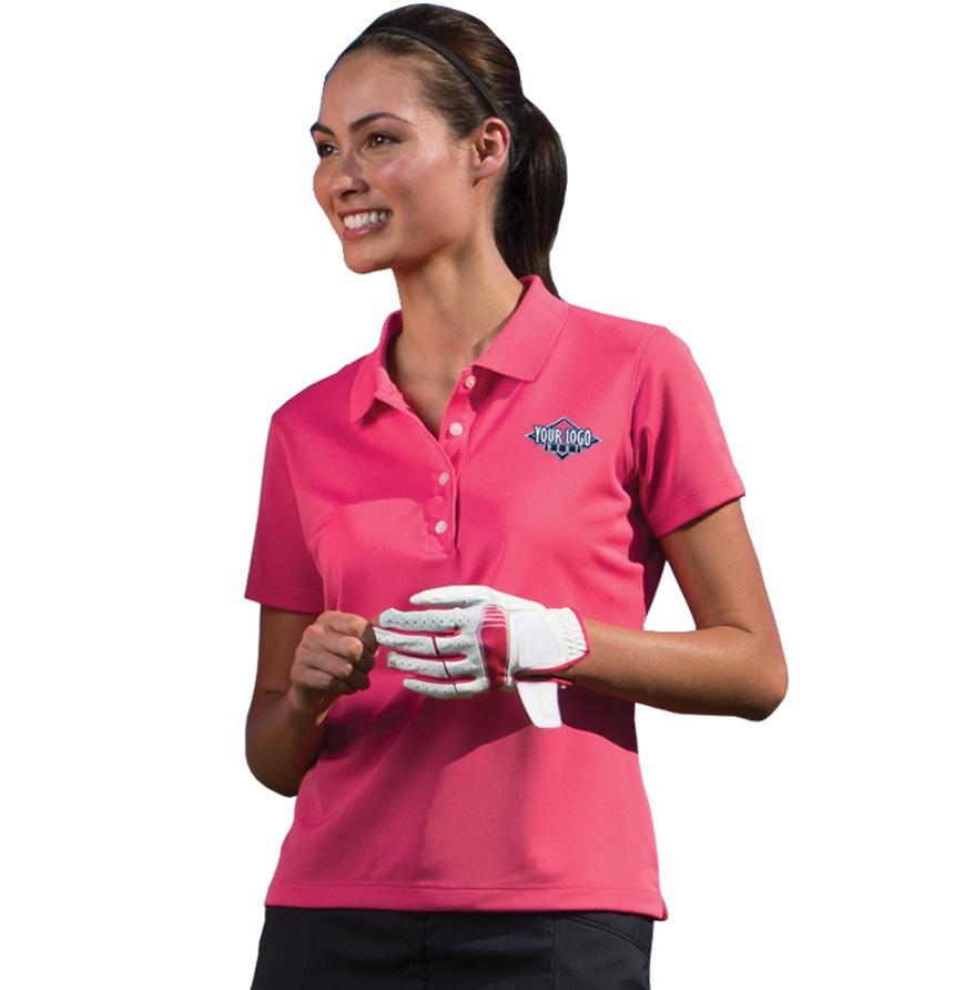 Women's Callaway Micro Pique Chevron Polo