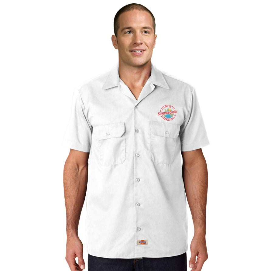 Dickies  Premium Industrial Short-Sleeve Work Shirt