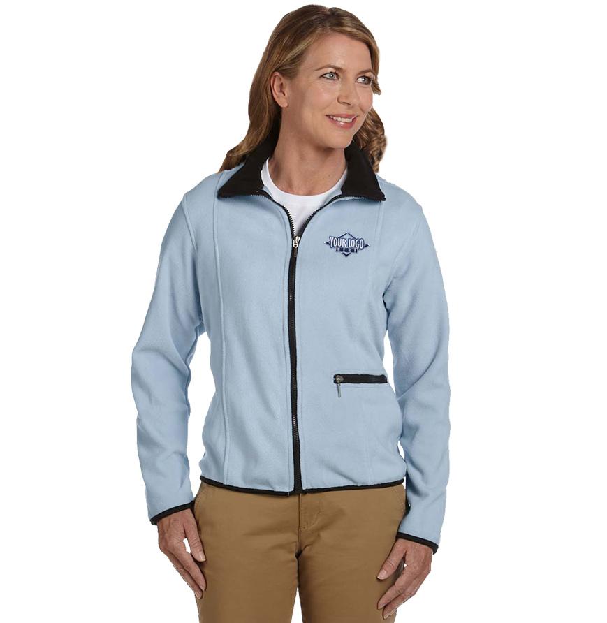 Ladies' Microfleece Full Zip Jacket