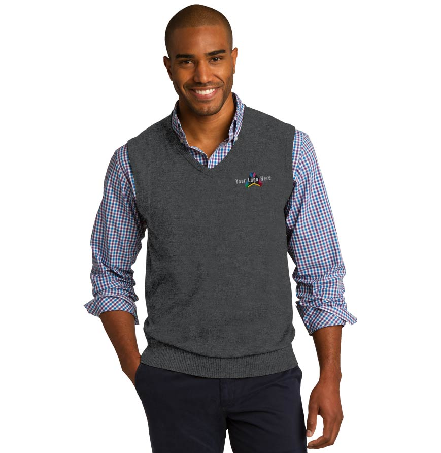 Port Authority V-Neck Sweater Vest