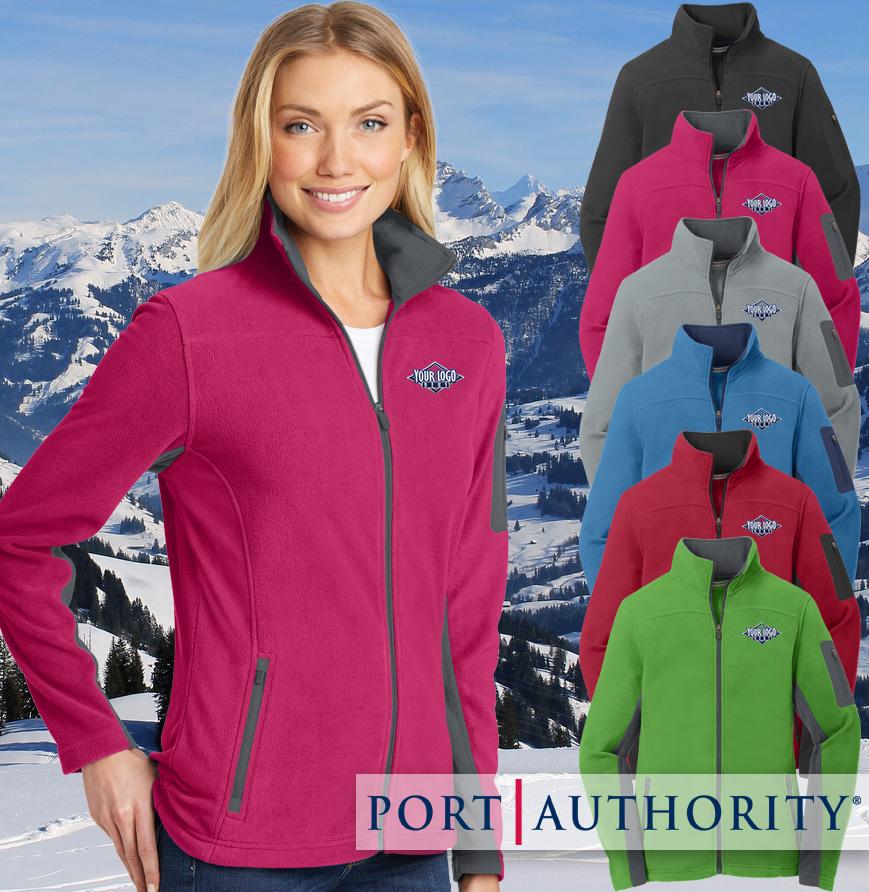 Ladies Summit Fleece Full Zip