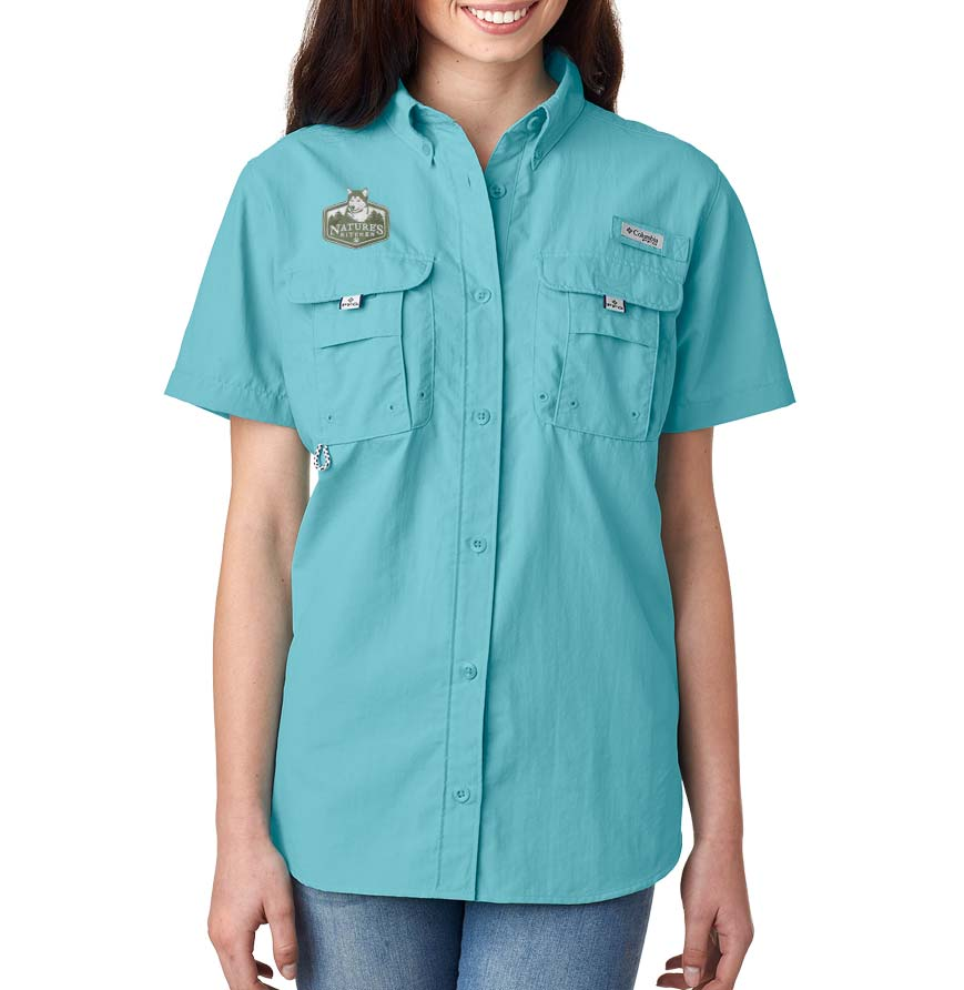 Columbia Ladies Bahama Short Sleeve Shirt