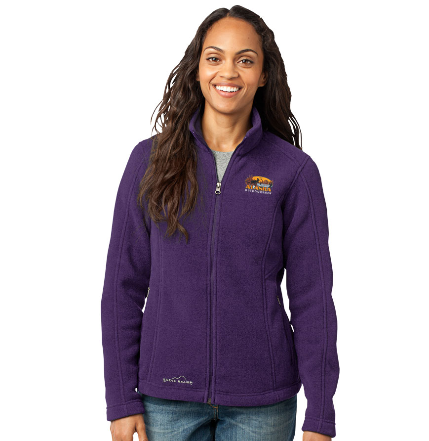 Ladies' Eddie Bauer Full Zip Fleece Jacket