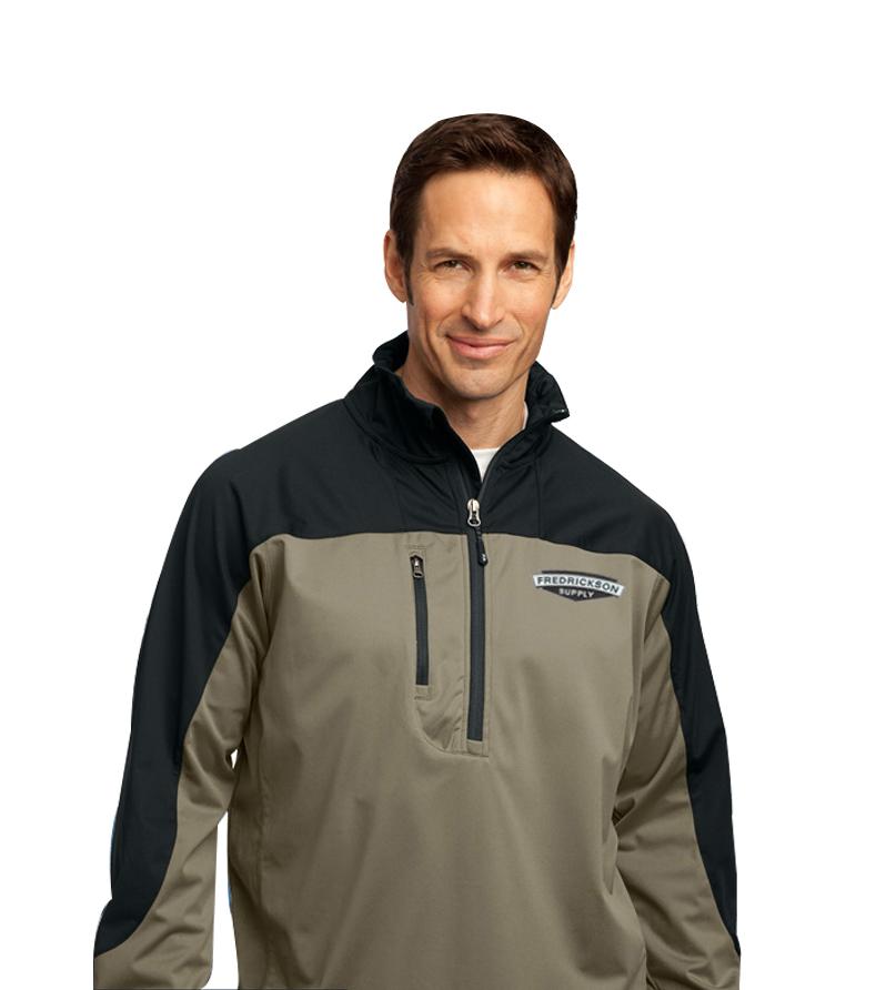 All-Season Soft Shell 1/2-Zip Jacket