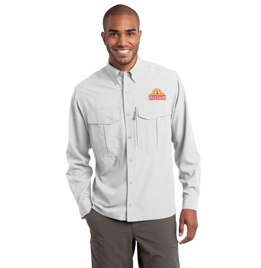 Eddie Bauer Long Sleeve Sierra Shirt