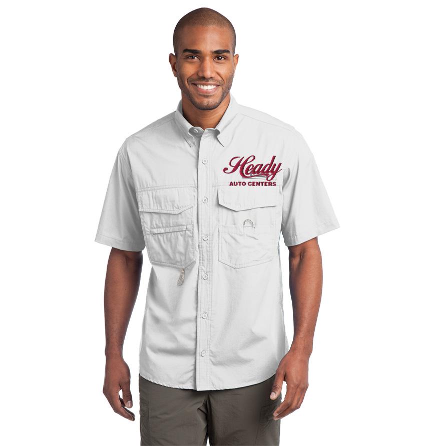 Eddie Bauer Short Sleeve Sierra Shirt