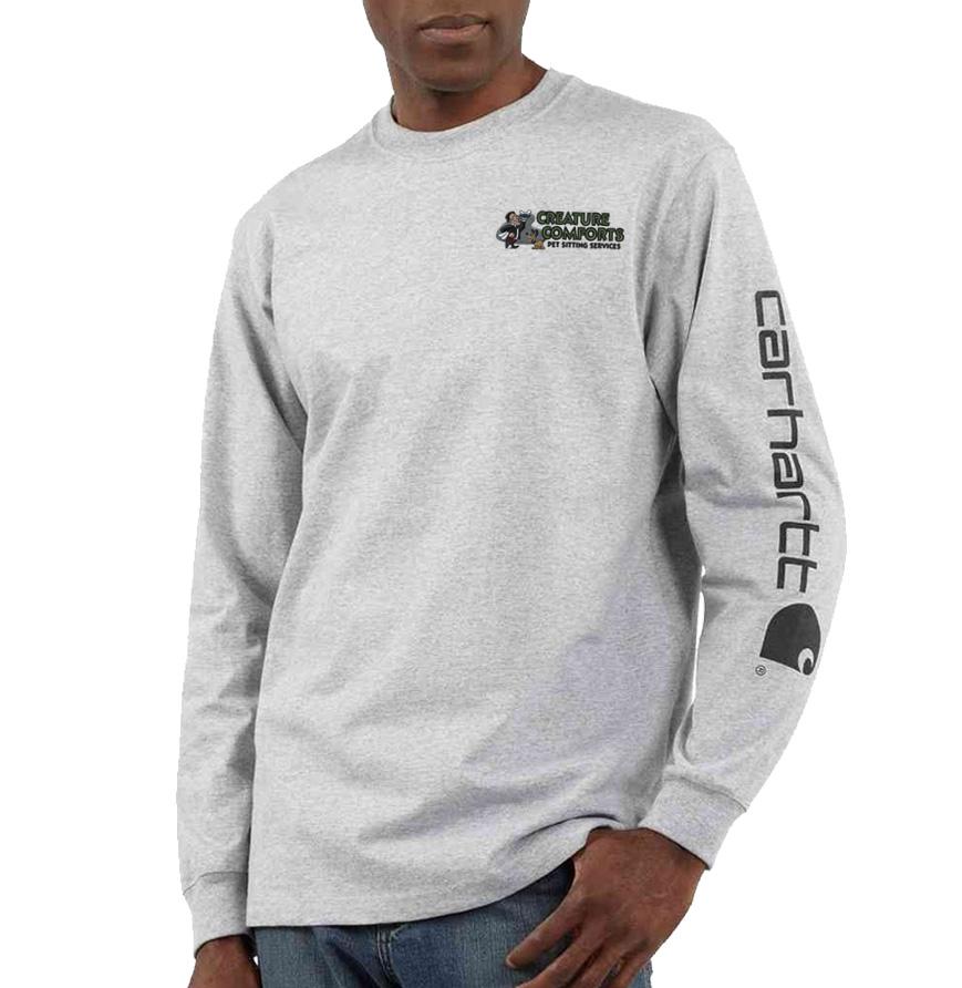 Carhartt Long Sleeve Graphic Logo T-Shirt