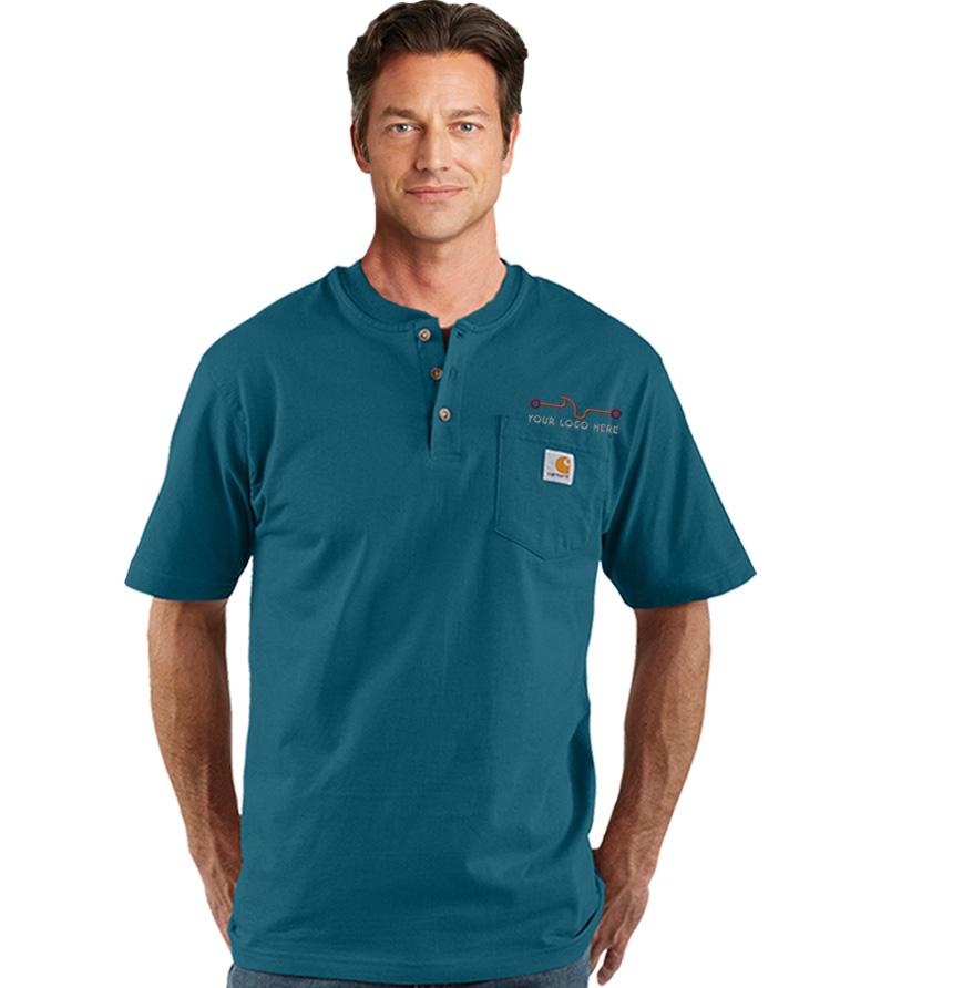 Carhartt Short Sleeve Workwear Henley