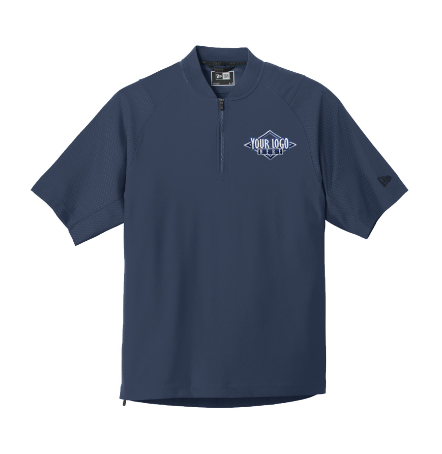 New Era Cage Short Sleeve 1/4 Zip Jacket