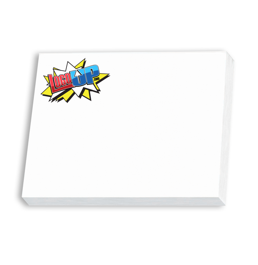 BIC 4 in. x 3 in. Adhesive Notepad, 25 Sheet Pad