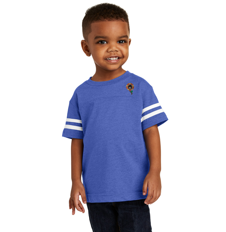 Rabbit Skins Toddler Football T-Shirt