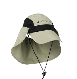 Classic Angler Cap with Neck Flap