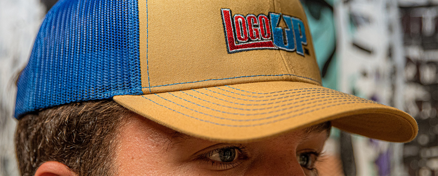 Richardson 112 Hat with Embroidered LogoUp Logo